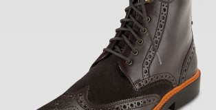 Never wear your uniform oxfords socially—it's tacky. But if you want one less pair of shoes to bring, consider a civilian pair that is still in regulations. Or, take it up a notch with Cole Haan's Brogue boots that look good in both dress slacks and jeans, saving you room in your luggage.