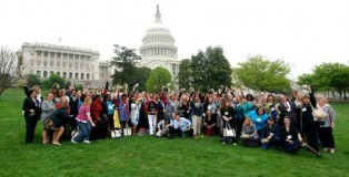 Service women storm Capitol Hill for the Truth and Justice Summit